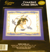 Indian Lady Counted Cross-stitch Kit