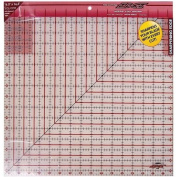 Sullivans 42cm -by-42cm The Cutting EDGE Frosted Ruler