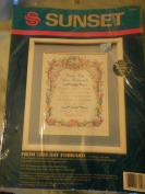 From This Day Forward Counted Cross Stitch