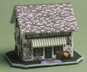 The Nutmeg Company The Village Shop 3D Cross Stitch Kit