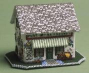 The Nutmeg Company The Village Shop 3D Cross Stitch Kit