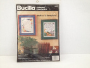 Bucilla Stamped Cross-Stitch - Grace's Sampler Pair