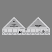 Creative Grids 90 Degree Double Strip Quilting Ruler