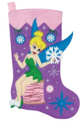 Janlynn Tinker Bell Stocking Felt Applique Kit 46cm Long 1135-36