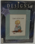 God's Little Lamb Counted Cross Stitch Kit