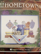 The Hometown Collection Cross Stitch Country Shelf Kitchen 23cm X 30cm