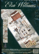 Elsa Williams Counted Cross Stitch Kit - Sunday Morning Memories Bellpull Designed by Lu Fuller