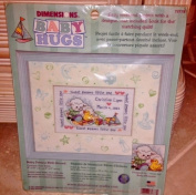 Baby Dreams Birth Record Counted Cross Stitch Kit