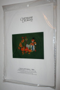 Candamar Designs Scarecrow and Pumpkins Counted Cross Stitch Kit