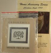 Christmas Angel & Shaker Tree Embroidery Kits