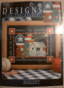 Designs for the Needle - Americana Counted Cross Stitch - America the Beautiful