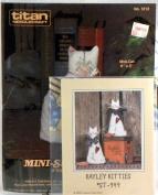 Mini-Cat, A Stamped Cross-Stitch Kit + Kayley Kitties