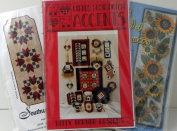Table Runner and Table Decor Quilt Project Designs, 3 Sets