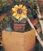 Golden Bee Plastic Canvas Sunflower Brick Cover Needlepoint Kit
