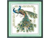 Happy Forever Cross Stitch, Animals, Auspicious peacock