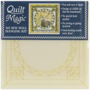 Quilt Magic Trophy Buck Photo Quilt Magic Kit 12'X12'