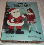 Needlecraft Santa Big As Life Plastic Canvas Kit 100cm X 70cm