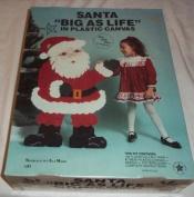 Needlecraft Santa Big As Life Plastic Canvas Kit 100cm X 70cm