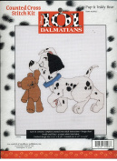 Disney's 101 Dalmations Pup & Teddy Bear Cross Stitch Kit