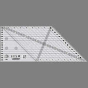 45 Degree Diamond Dimensions Ruler