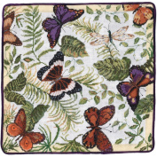 MCG Textiles Candamar Designs Butterflies Galore 14x14 Picture/Pillow Counted Cross Stitch Kit
