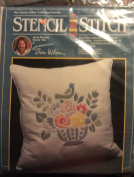 Stencil Stitch Spring Blossoms Pattern 7006 Kit