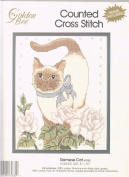 Siamese Cat 8 x 10 Counted Cross-Stitch Kit