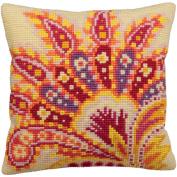 Collection D'art Passion Pillow Cross Stitch Kit 15 3/4'X15 3/4'