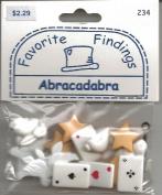 Abracadabra Magic Buttons for Scrapbooking