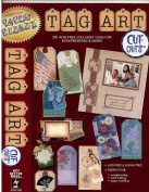 Tag Art #2 241 Acid Free Collaged Tags Paper Pizazz