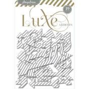 Luxe Chipboard Shapes-Arrows 19/Pkg