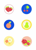 Jinger Adams Collections Sweet Tart Chipboard Buttons
