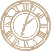 Kaisercraft Wood Flourishes, Roman Clock Face