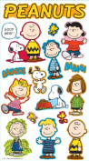 Peanuts Worldwide Puffy Stickers