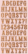 Cosmo Cricket High Noon Ready Set Chipboard Stickers, 15cm -by-30cm