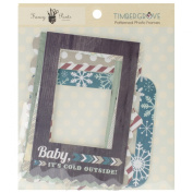 Fancy Pants Timbergrove Patterned Photo Frame Embellishments