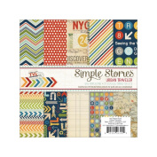 Urban Traveller 6x6 Paper Pad by Simple Stories
