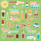 Endless Summer Die-Cuts 27/Pkg-Summer