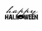 "Imaginisce Snag Em Stamp - "" Happy Halloween"" Words"