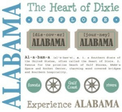 Alabama Stickers USA // SRM Stickers
