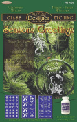 Armour Etch Designer Stencil, Pak Seasons Greetings