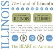 Illinois Stickers USA // SRM Stickers