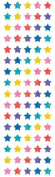 Mrs Grossman's Stickers - Multi Colour Sparkle Micro Stars