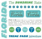 Florida Stickers USA // SRM Stickers