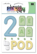 EK Success - Phrase Café - Two Peas in a Pod Title Stickers