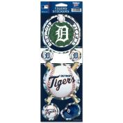 Detroit Tigers Prismatic Stickers