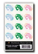 LDS Acid-free CTR Stickers 72 Stickers - 12 Stickers Per Page, 6 Pages