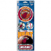 Miami Heat Prismatic Stickers