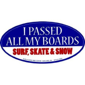 Passed My Boards Sticker