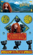 Disney Brave Movie Sticker Medley Clip Assortment 12/pkg 3 Each of 4 Styles